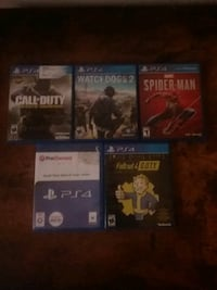 Ps4 games 60$ for all 13$ each