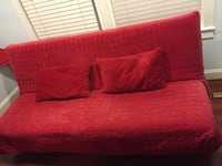 IKEA futon & red cover 45 km