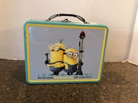 "Despicable Me Minions Metal Lunchbox 6""x8"" Manassas, 20112"