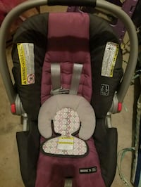 baby's black and pink car seat carrier Richmond, 23236