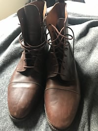 (negotiable)Real Italian leather dress boots/shoes mens/unisex Lubbock, 79423
