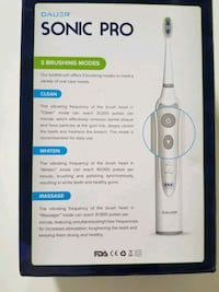 Sonic Pro toothbrush brand new in box Mississauga, L5J 4L3