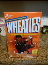 Tiger Woods The Breakfast of Champions