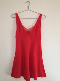 Red Skater Dress w. Lace Toronto, M9M 1Z3