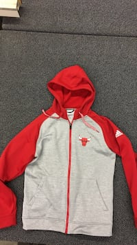 red and white zip-up hoodie Garden Grove, 92841