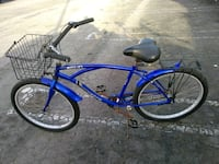 blue and black cruiser bike Los Angeles, 90035