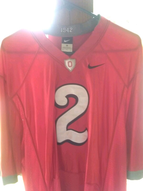 pick up 05746 4903b Ohio State rivalry jersey