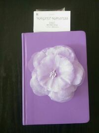 Leather Journal with Flower Fairfield, 94533