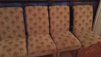 4 dining chairs Jacksonville, 32277