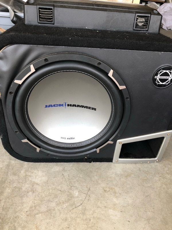 MTX sub in Ported Box with Kenwood 1000W amp 33cfb58e-b325-4447-959e-05f405df3f64