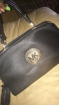 black Michael Kors leather crossbody bag Chevy Chase, 20815