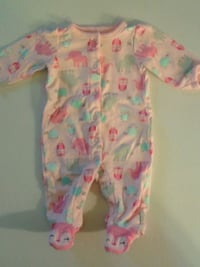 Pretty Pink 100% Cotton Sleeper...Vguc Oshawa, L1J 4Z3