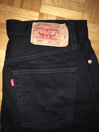501 Levi's BLACK JEANS regular original fit Toronto, M3A 3A1
