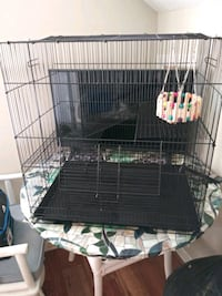 3-tier critter cage for rats, ferrets, guinea pigs, rabbits, etc
