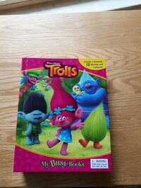Trolls book and play set Surrey, V3S 5B9