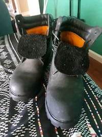 pair of black leather boots Antioch, 94509
