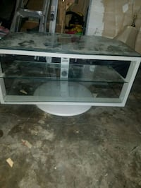 white framed glass top tv stand Centreville, 20120