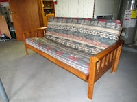Oak Futon WARREN