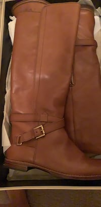 Coach leather boots size 7 Falls Church, 22041