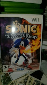 Sonic And The Secret Rings Nintendo Wii  Oslo kommune, 0986