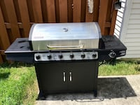Gas Grill ,Barbeque 6 Burrners Round Lake, 60073