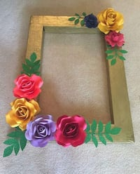 yellow, pink, and purple floral wreath Houston, 77041