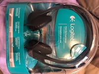 Logitech Headset with mouthpiece. Bought on Amazon for $35 but never used. USB Brampton, L6V 4A8