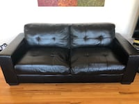 3 Leather Sofas and 2 Tables Superior, 80027