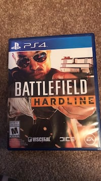Ps4 battlefield hardline game case Edmonton