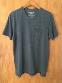 Hurley Men's Medium Gray Pocket Tee T-Shirt Richfield, 55423