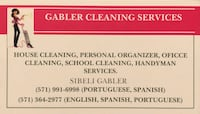 House cleaning, personal organizer!