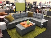 *Brand New*Grey Sectional w/ Ottoman  Norfolk, 23502