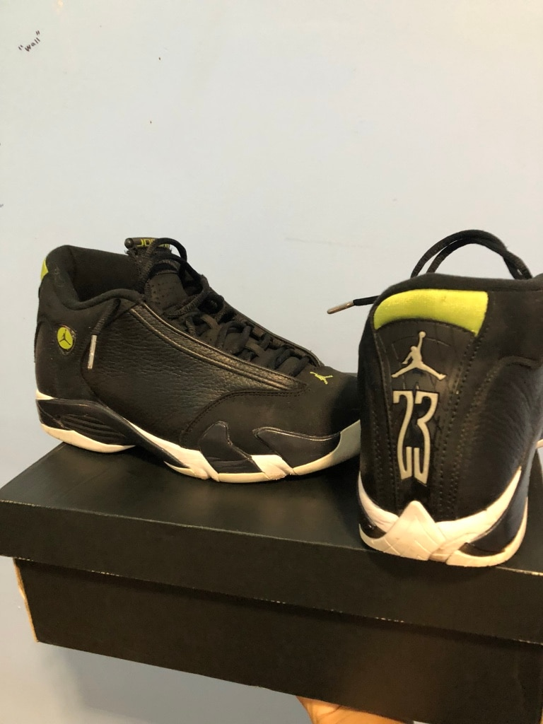 7b9e82199db ... used air jordan retro 14 for sale in new york letgo