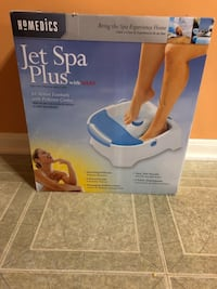 Homedics Jet spa plus with Heat. Brand new Shelby Township, 48315