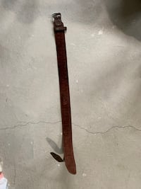 Quality leather tool belt. only the belt