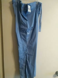 Surgical blue scrub pant. Cherokee Independence, 64057
