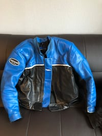 Motorcycle jacket with removable vest XL Dryden, 98815