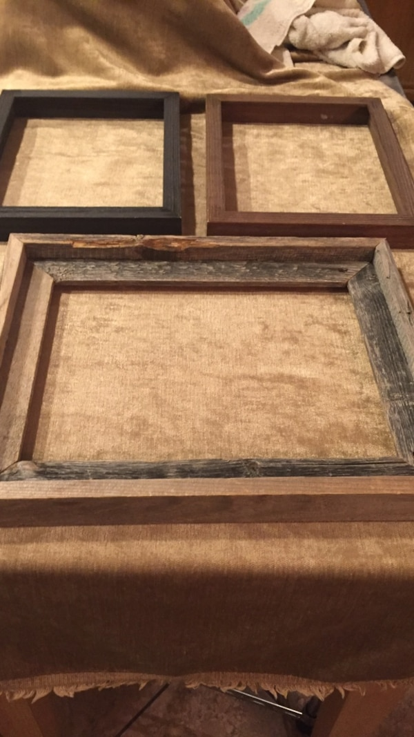 Used Barn wood / black and brown frame for sale in Las Vegas - letgo