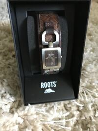 Roots Leather Watch Toronto