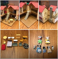 Calico Critters collectable set. 515 km