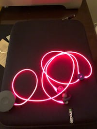 Laser glow headphones, new never used Baltimore, 21211