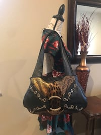 AUTHENTIC RENATO ANGI LEATHER & cowhide patchwork handbag in very gently Fair Oaks, 95628