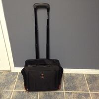 Black and brown luggage bag North Bay, P1A 2V9