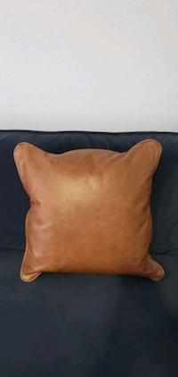 Brand new leather pillows! (from Macy's)