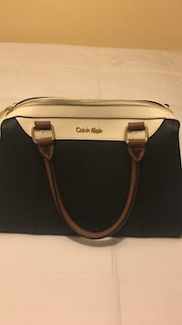 black and white Calvin Klein leather hand bag Indio, 92201