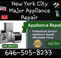 MAJOR APPLIANCE REPAIR AND INSTALLATIONS