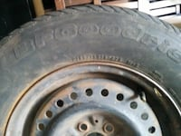 USED BF GOODRICH P105/75R14 TIRE