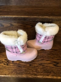 GRAY WOLF TODDLER GIRLS BOOTS - Size 8 TORONTO