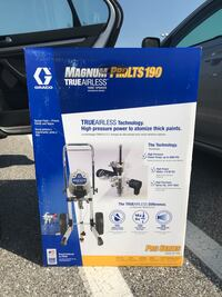 GRACO MAGNUM PRO LTS 190 COMMERCIAL GRADE PAINT SPRAYER BRAND NEW IN THE BOX STILL SEALED NEVER USED Elkridge, 21075