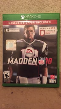 Madden NFL 15 Xbox One game case Winchester, 22602